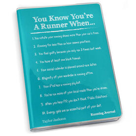 GoneForaRun Running Journal - Vintage You Know You're A Runner When