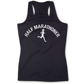 Women's Performance Tank Top - Half Marathoner Girl