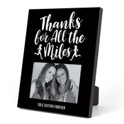 Running Photo Frame - Thanks For All The Miles