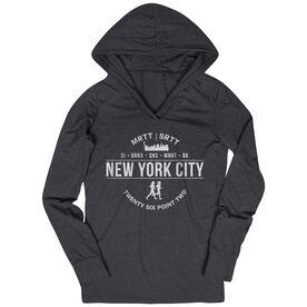 Women's Running Lightweight Performance Hoodie - New York City 26.2 (MRTT/SRTT)