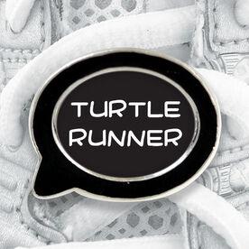 Talk Bubble Shoe Lace Charm Turtle Runner