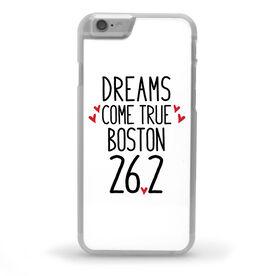 Running iPhone® Case - Custom Dreams Come True 26.2