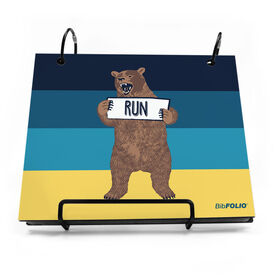 BibFOLIO® Race Bib Album - Trail Bear