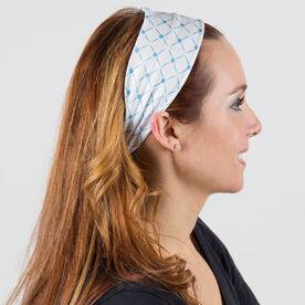 RunTechnology Tempo Performance Headband - Emma Blue