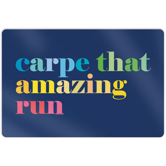 "Running 18"" X 12"" Wall Art - Carpe That Amazing Run"