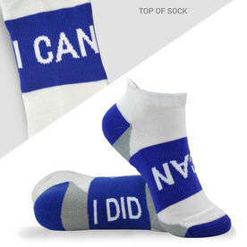 Socrates® Woven Performance Socks I Can (Royal)