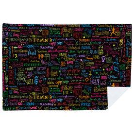 Running Premium Blanket - MRTT/SRTT Handwritten Pattern