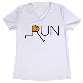 Women's Running Short Sleeve Tech Tee - Let's Run For Jack