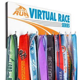 Running Hooked on Medals Hanger - Virtual Race Series Logo