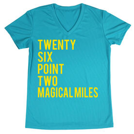 Women's Running Short Sleeve Tech Tee Twenty Six Point Two Magical Miles