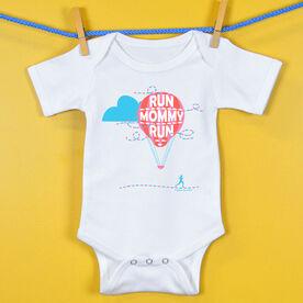 Baby One-Piece Run Mommy Run Hot Air Balloon