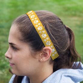 Athletic Julibands No-Slip Headbands - Paw Prints
