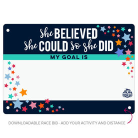 Virtual Race - She Believed She Could Custom Activity & Distance (2020)