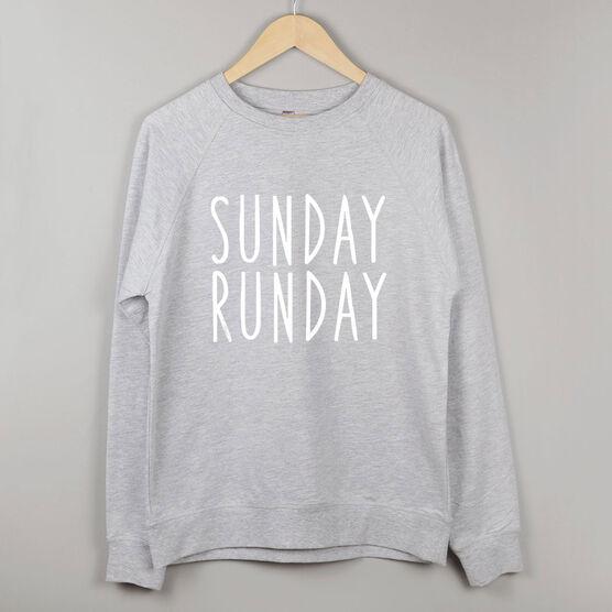 Running Raglan Crew Neck Sweatshirt - Sunday Runday