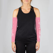 Running Printed Arm Sleeves - I Don't Sweat I Sparkle