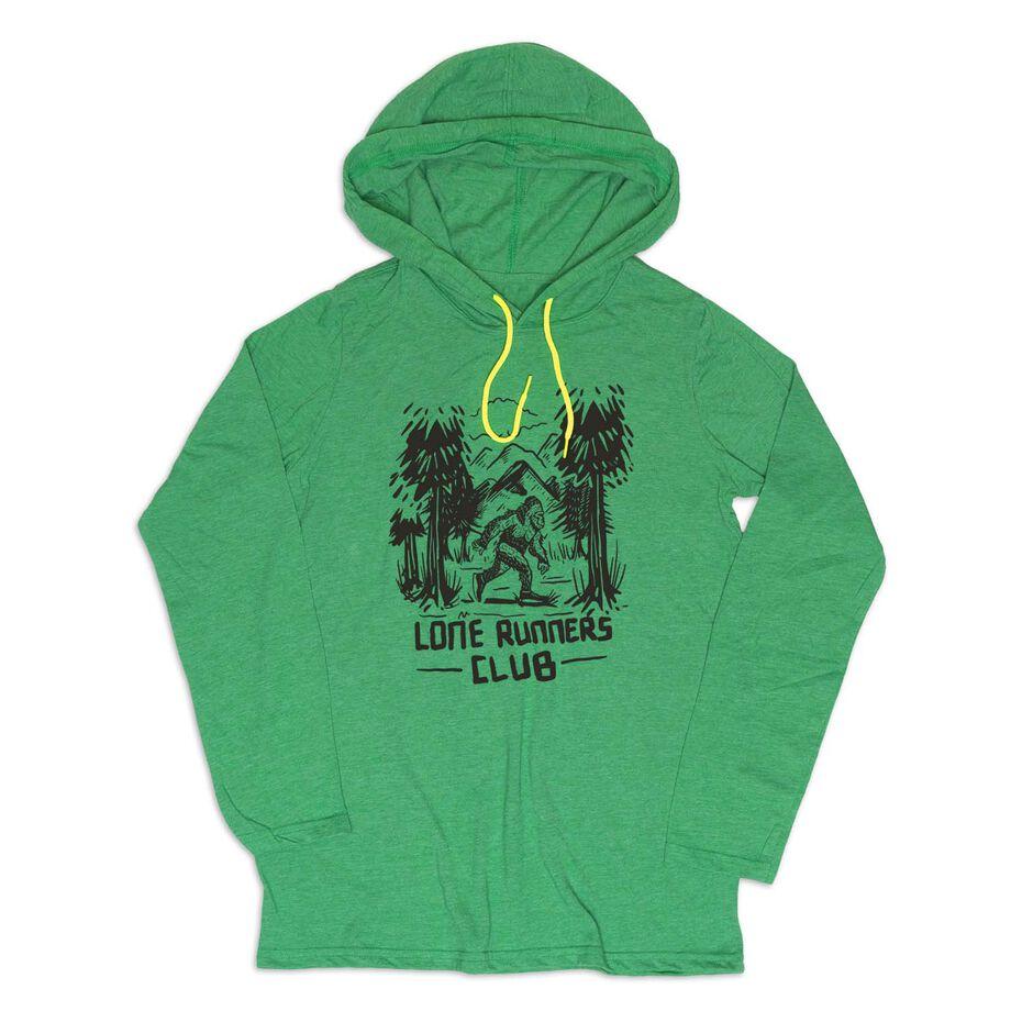 Men's Running Lightweight Hoodie - Lone Runners Club