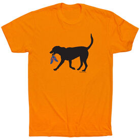 Running Short Sleeve T-Shirt - Rex the Running Dog