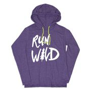 Women's Running Lightweight Hoodie - Run Wild Sketch