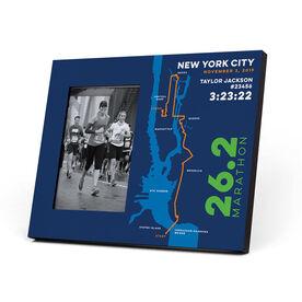 Running Photo Frame - New York City 26.2 Route