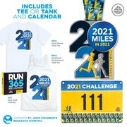 2021 Challenge Virtual Race - 2,021 Miles in 2021