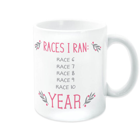 Running Coffee Mug - Races I Ran