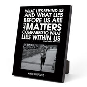 Running Photo Frame - What Lies Behind Us