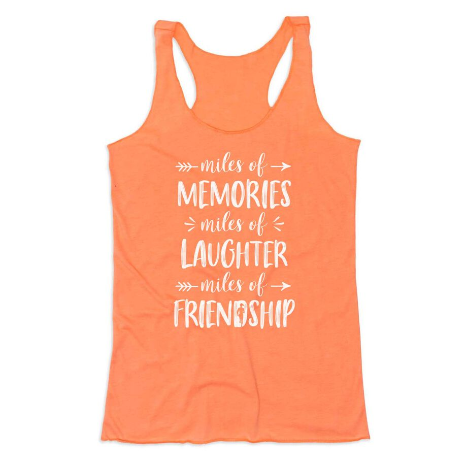 Women's Everyday Tank Top - Miles of Friendship Mantra