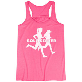 Flowy Racerback Tank Top - Sole Sister Silhouettes