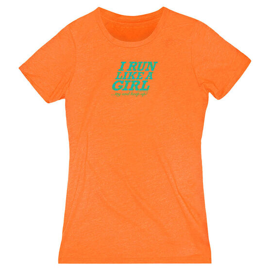 Women's Everyday Runners Tee I Run Like A Girl...Try and Keep Up