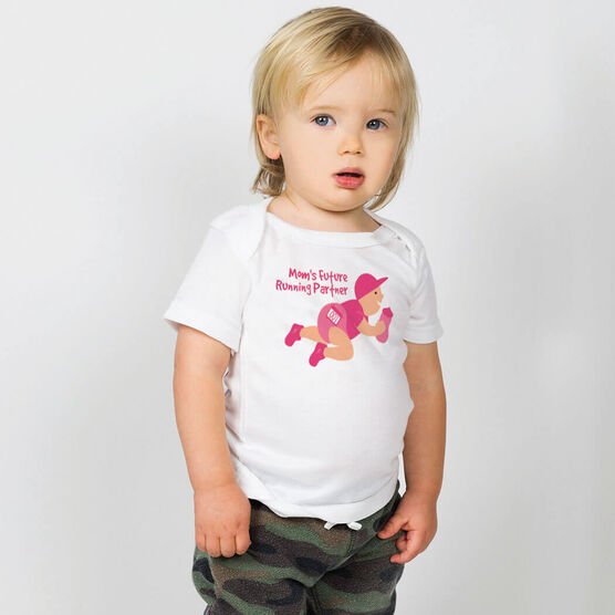 Running Baby T-Shirt - Mom's Future Running Partner