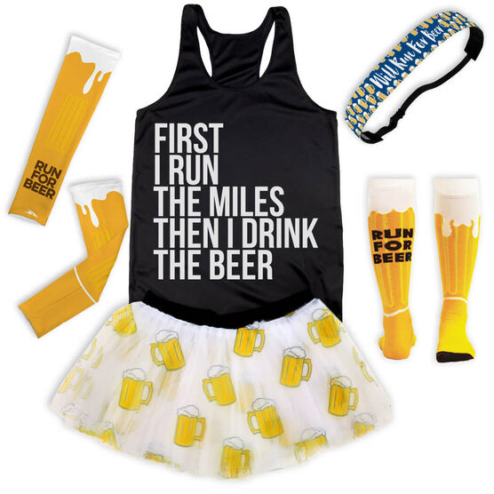 Will Run For Beer Running Outfit