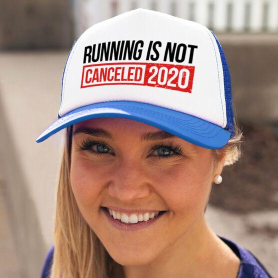 Running Trucker Hat - Running is Not Canceled 2020