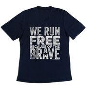 Women's Short Sleeve Tech Tee - We Run Free