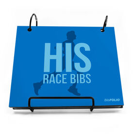 BibFOLIO® Race Bib Album - His Race Bibs