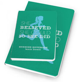 Running Notebook She Believed She Could