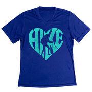 Women's Short Sleeve Tech Tee - Love The Hike
