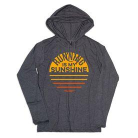 Women's Running Lightweight Hoodie - Running is My Sunshine (VR)