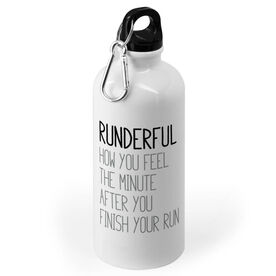 Running 20 oz. Stainless Steel Water Bottle - Runderful