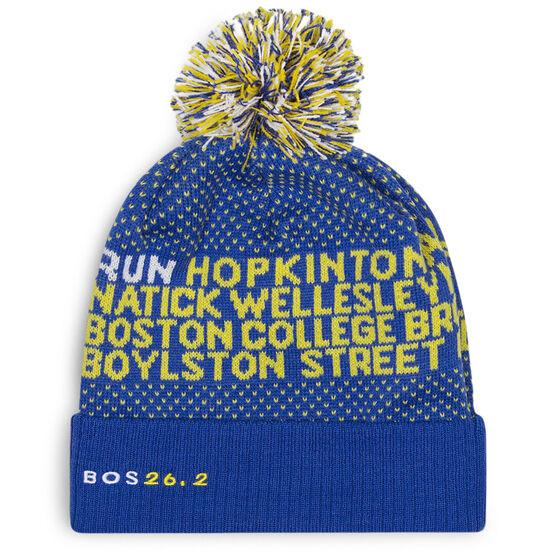 Running Knit Hat - BOSTON 26.2