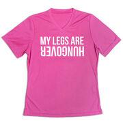 Women's Short Sleeve Tech Tee - Legs Hungover