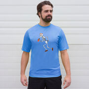 Men's Running Short Sleeve Tech Tee - Never Stop Running