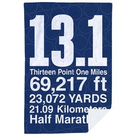 Running Premium Blanket - 13.1 Math Miles