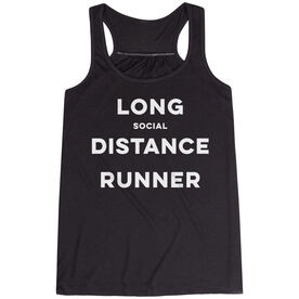 Flowy Racerback Tank Top - Long Social Distance Runner