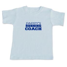 Daddy's Running Coach Baby T-shirt