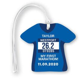 Running Jersey Bag/Luggage Tag - Custom Bib Shirt