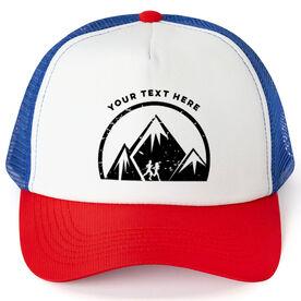 Running Trucker Hat Running Your Text