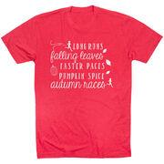 Running Short Sleeve T-Shirt - Awesome Autumn