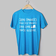 Running Short Sleeve T-Shirt - Slow Runners