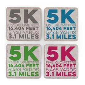 Running Stone Coaster Set of 4 - 5K