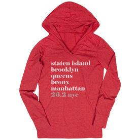 Women's Running Lightweight Performance Hoodie - Run Mantra - NYC